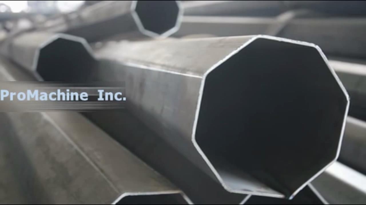 Как устроить современный завод по производству стальных опор уличного освещения