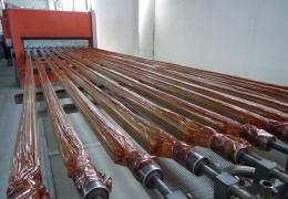 Оборудование для полимерного декорирования алюминиевых профилей