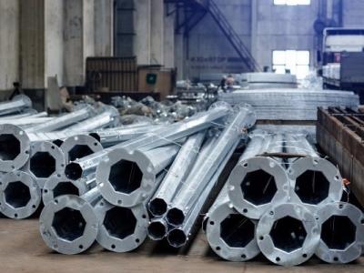 Линия сварки многогранных опор из рулонной стали