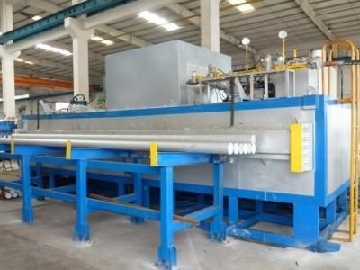оборудование нагрева и подачи цилиндрических алюминиевых заготовок